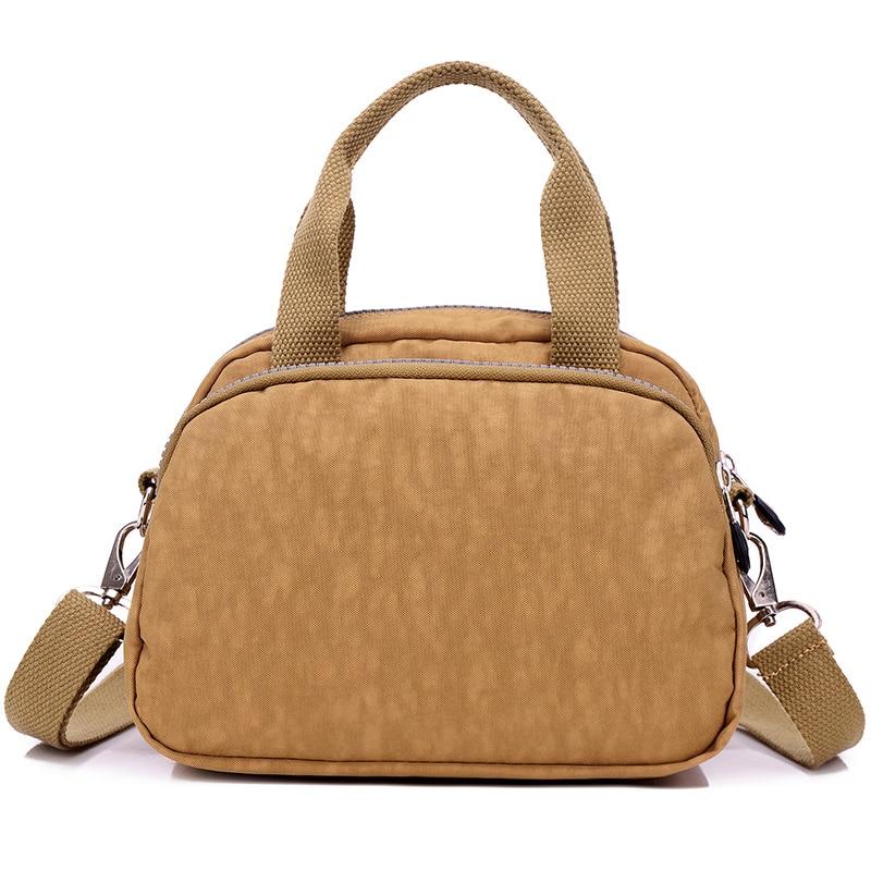 Fashion Women's Waterproof Nylon Messenger Bags Female Tote Shoulder Bags Girls Casual Handbags Crossbody School Bag
