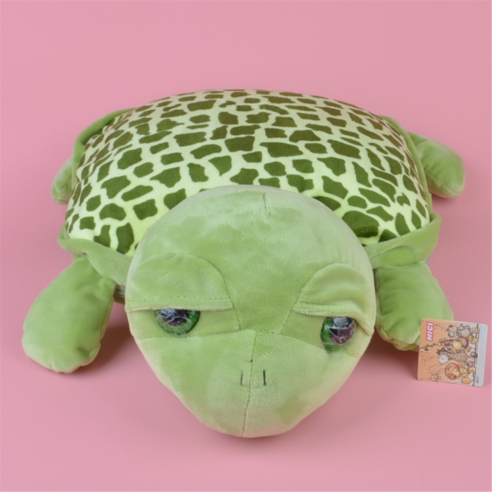 Multi function Plush Cushion Green Turtle Plush Toy Blanket Baby Kids Gift Free Shipping
