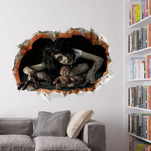 Zooyoo 3d Wall Decals Wall Stickers Art Mural Decor