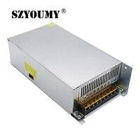 SZYOUMY High Quality 10pcs DC 12V 50A 600W Switching Power Supply Transformer for LED Strip Light 110/220V