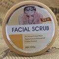 2 in 1 Papaya + snail  Whitening revitalizing cream professional Whitening face scrub 300 g  S121