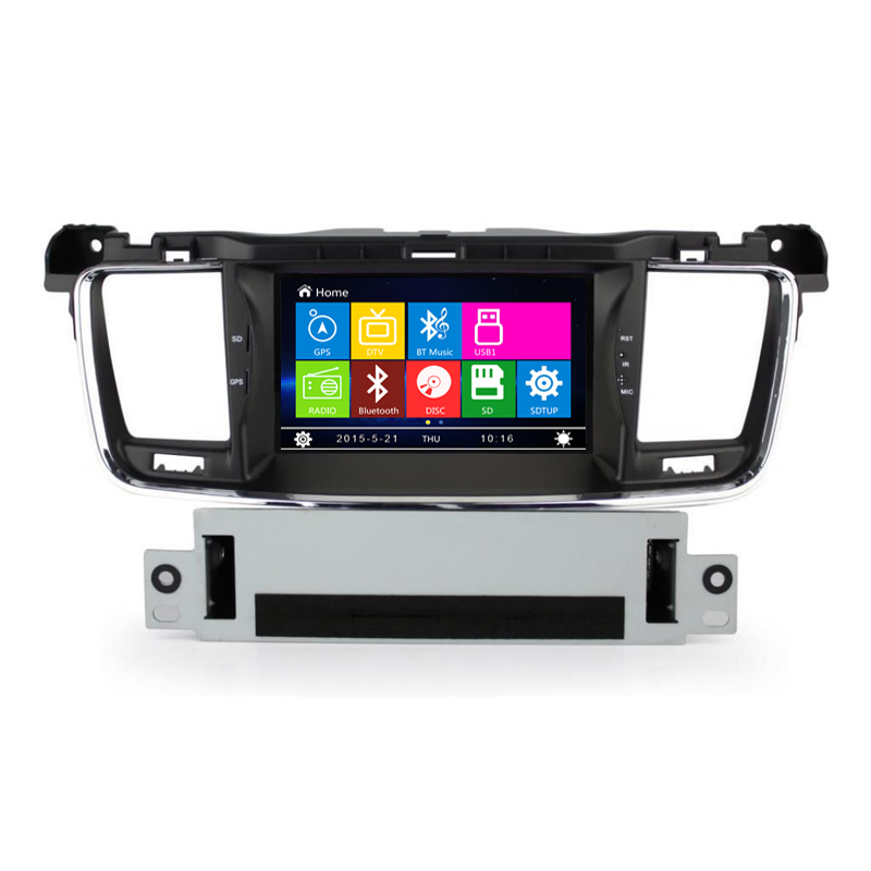 7″ Car DVD Player Navigation stereo for Peugeot 508 2011 2012 input radio with RDS BT CANBUS SWC PHONE BOOK