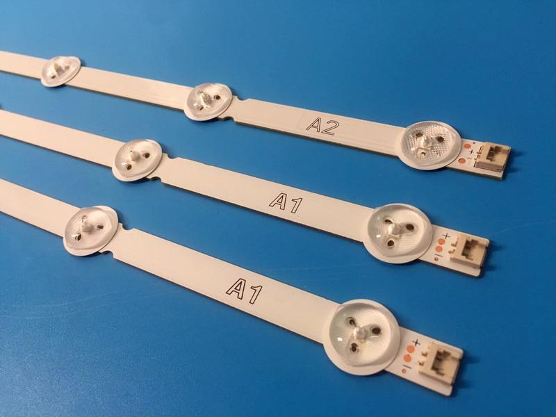 New 3 PCS( 2*A1*7LED,1*A2*8LED) LED Backlight Strip For LG 32