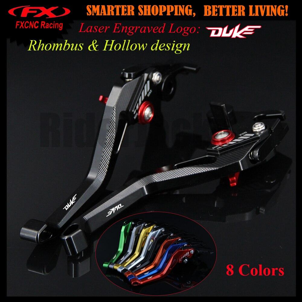 3D design (Rhombus Hollow) Black CNC Motorcycle Adjustable Brake Clutch Lever For KTM 1290 Super Duke R/GT 2014-2018 2016 2017 riggs r hollow city