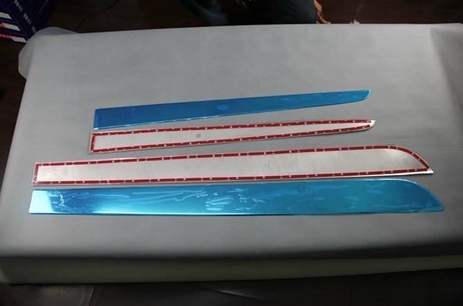 ФОТО High quality ABS Chrome body side moldings side door decoration For 2009-2013 Renault Koleos
