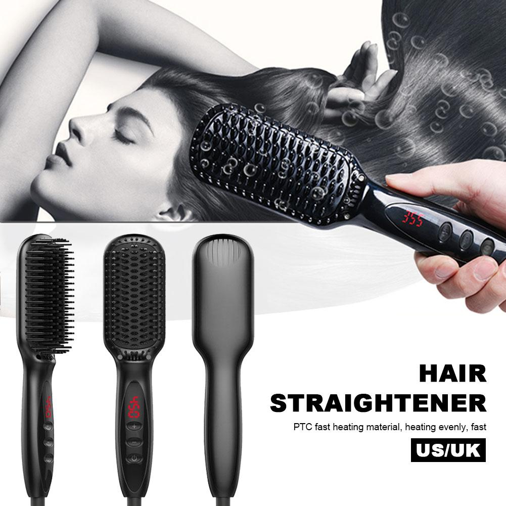 Electric Hair Comb Hairs Straightener Straight Combs Negative Ion Straight Hairs Board Straight Hair Board Styling Tool