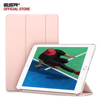 Case For IPad 2017 ESR Rubber Oil Cover PU Leather Ultra Slim Fit Light Weight Smart