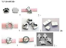 Buyer order – 8styles 8MM Slide Charms Fit For 8mm DIY Leather Bracelet Keychains