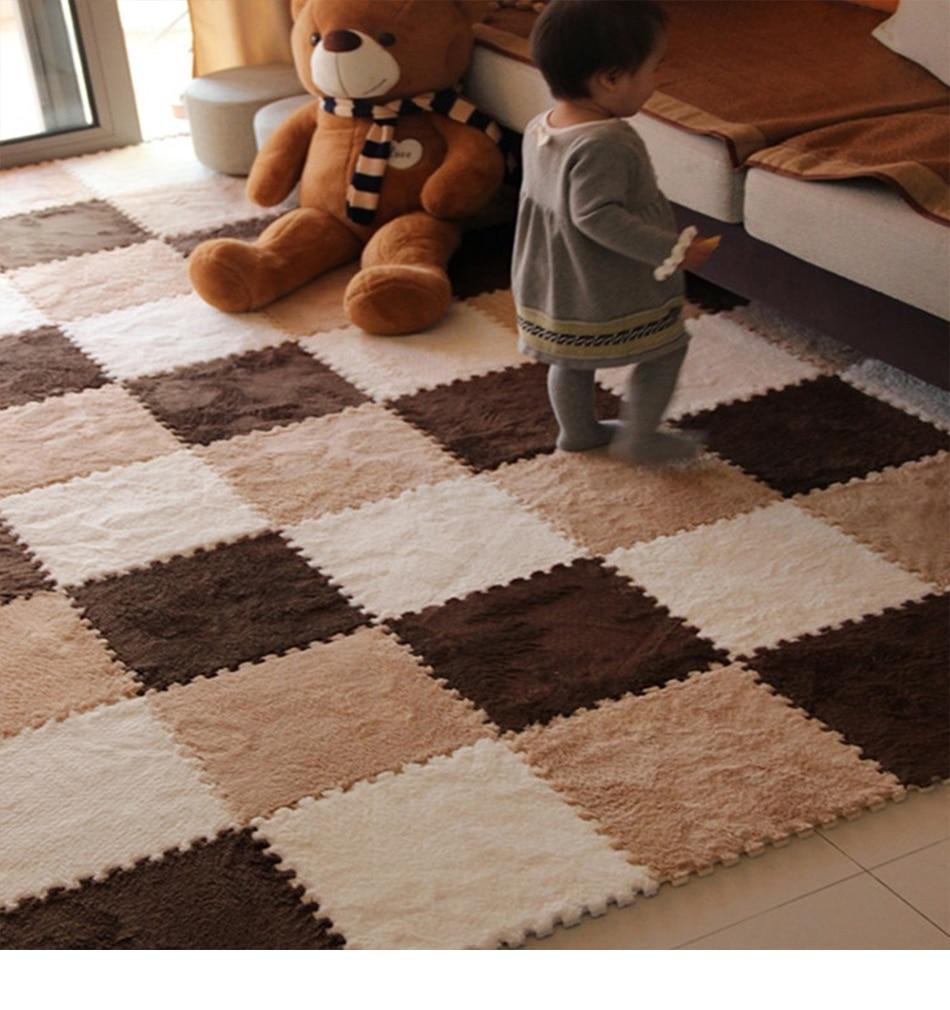 HTB1R81SBQ9WBuNjSspeq6yz5VXaC 10 Pcs/lot Plush Puzzles Baby Playmats Puzzle Mat Infant Carpet Eva Foam Kids Rug Baby Playing Mat Rug Puzzle Children's Mat