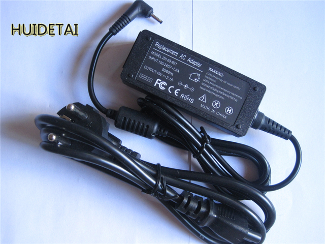 19V 2.1A 40w AC Adapter Battery Charger for Asus Eee PC 1016 1018 1025 1016P 1016PT 1018P 1018PB 1018PG  1025C 1025CE
