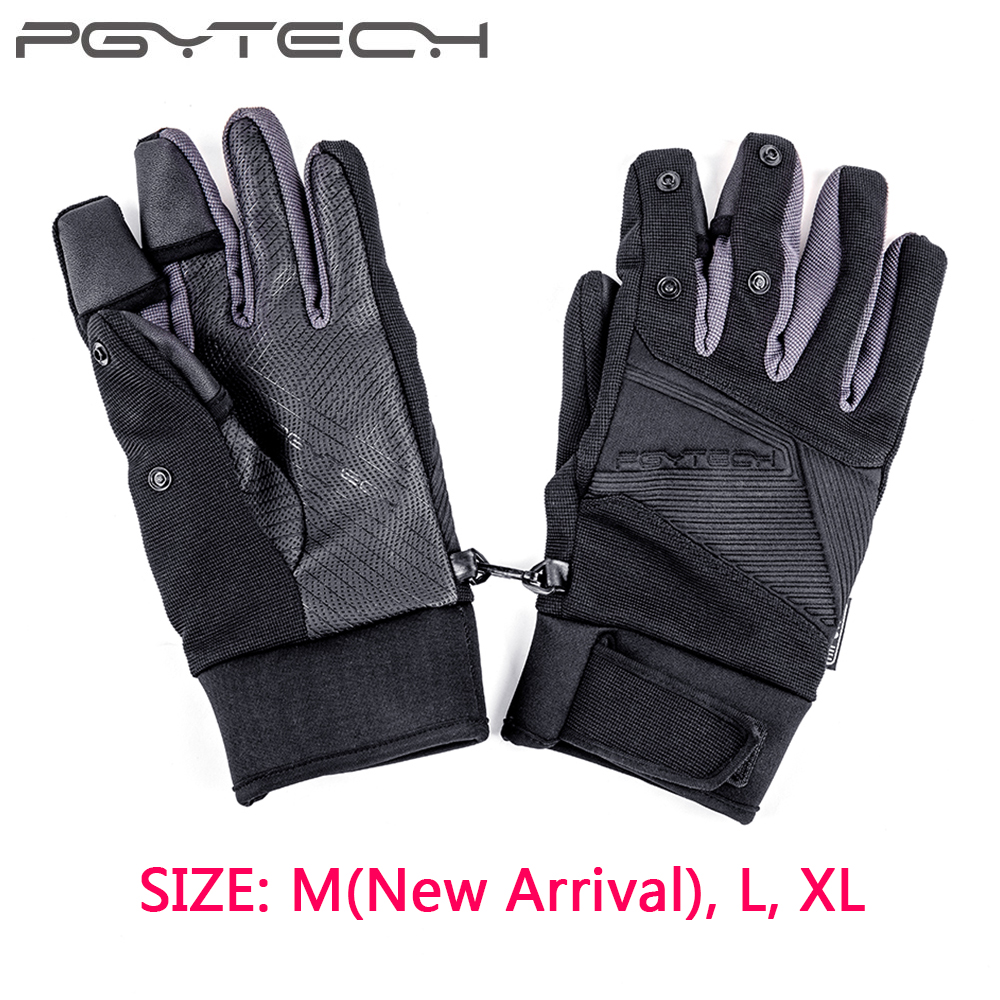 PGYTECH Flying Photography Gloves M L XL Mountaineering Ski Riding Windproof Waterproof Touch Screen Multi function