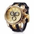 2017 Nova Moda dos homens de Quartzo Esporte Militar Relógios Exército Militar Relógio Ocasional Pulseira de Couro Masculino Relógio Montre Homme Reloj