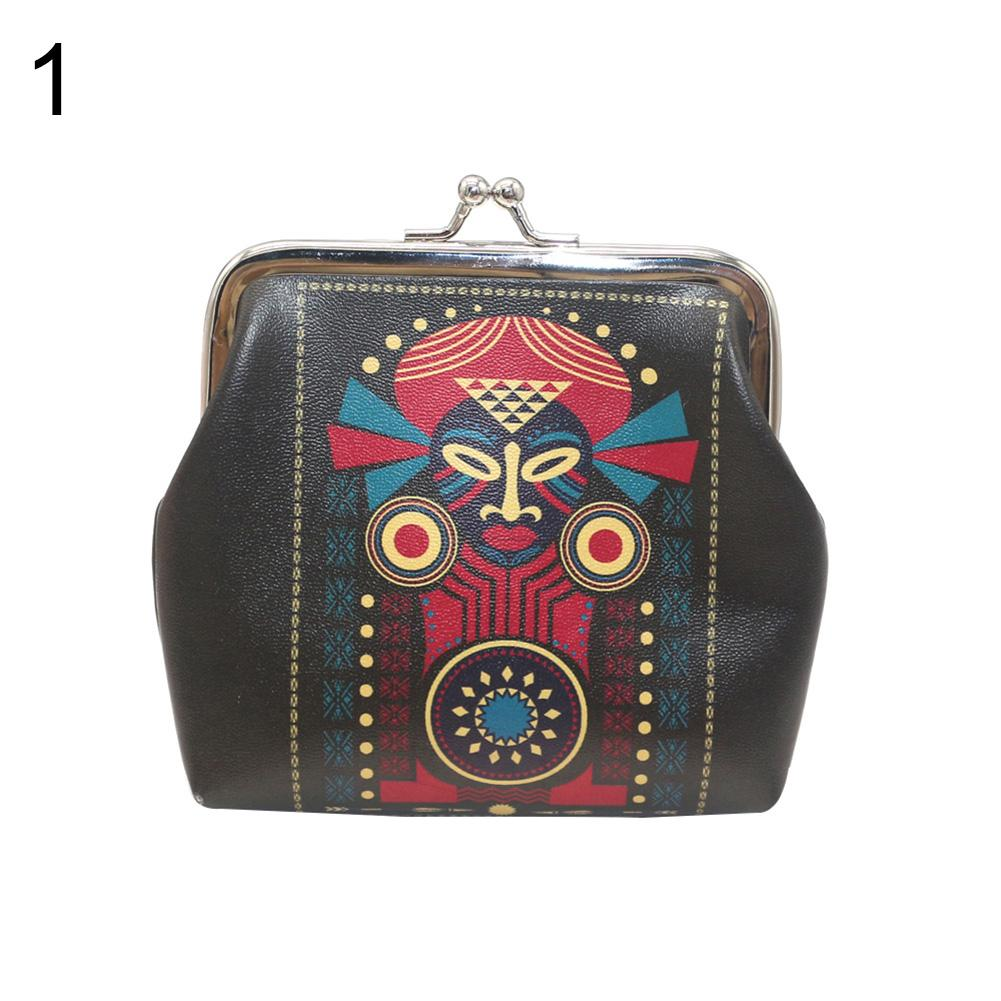 Women Vintage Opera Facial Makeup Mini Coins Keys Holder Purse Clutch Key Bag Small Wallet Porte Monnaie Homme New Arrival