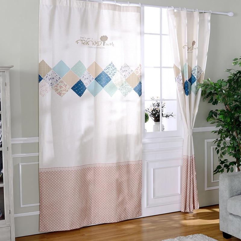 Lino terminado puerta cortinas lunares persianas telas for Cortinas cocina confeccionadas