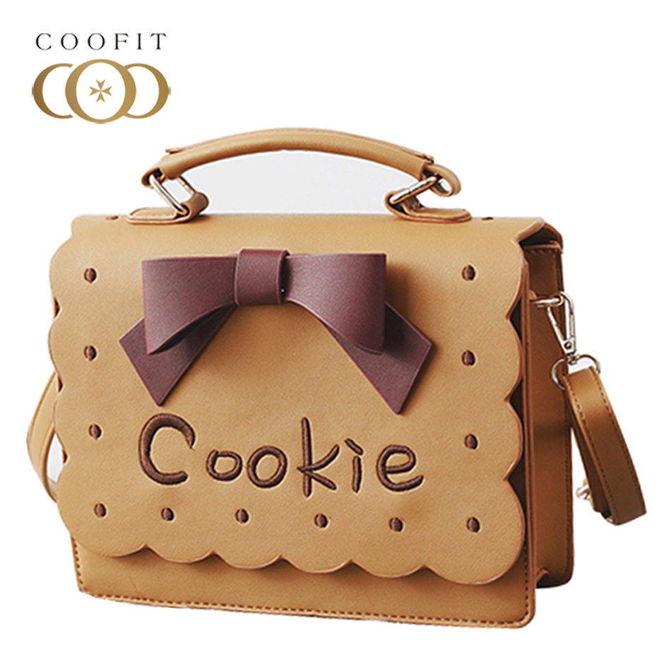 Coofit Womens Cute Style Handbags Big Bowknot Crossbody Bags Female Messenger Single Shoulder Bag For Women Girls