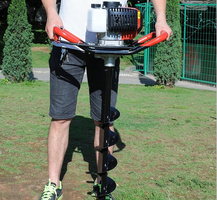Professional 52CC Ground Drill Earth Auger Hole Digger Garden Tools Planting Machine Farm Auger Agricultural Drill