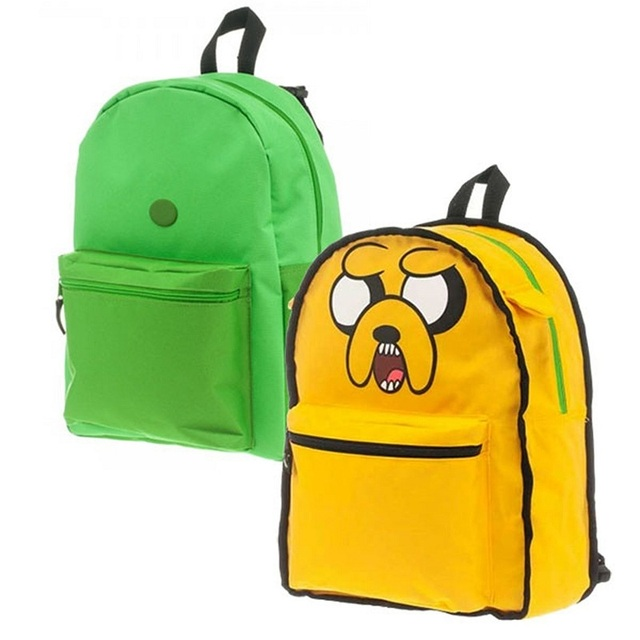 ab1df65364 Adventure Time Finn Jake Reversible 2 in 1 Backpack School Bag-in ...