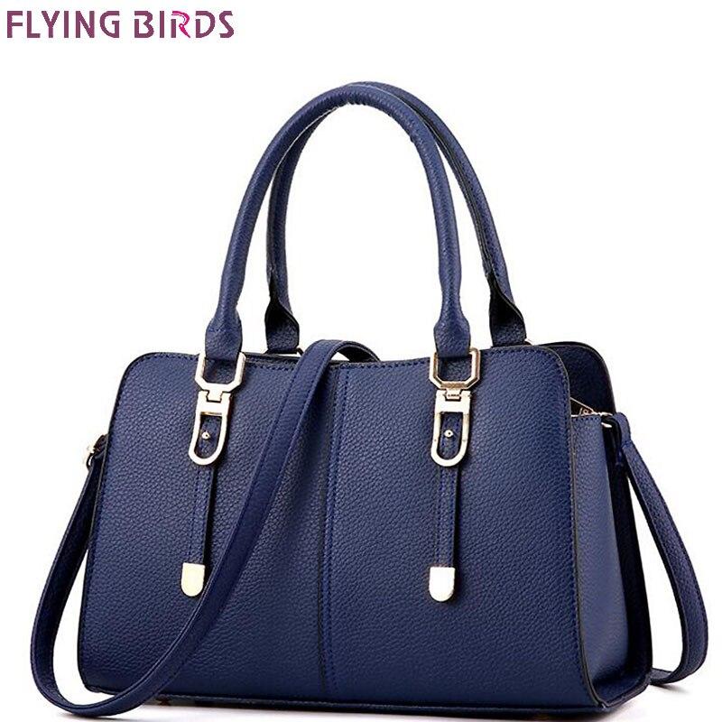 Flying birds brands handbag for women luxury tote designer women <font><b>pouch</b></font> shoulder bag <font><b>purse</b></font> messenger bags ladies fashion LM3559fb