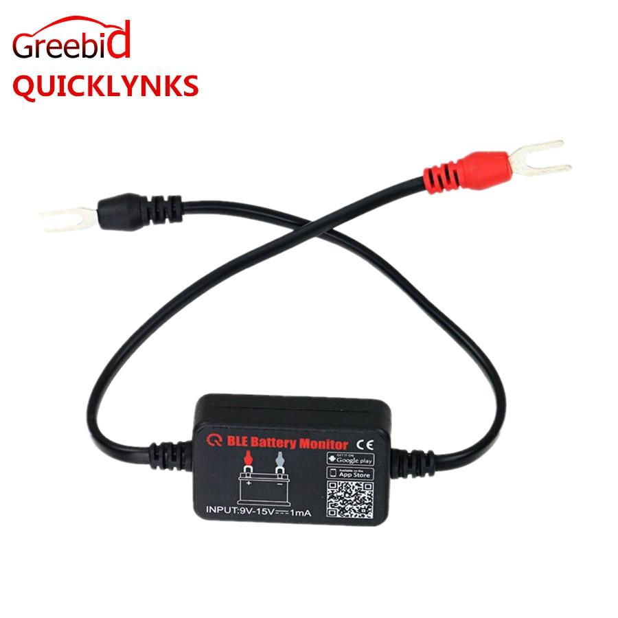 Prix pour QUICKLYNKS Batterie Moniteur BM2 Bluetooth 4.0 Dispositif De Voiture 12 V Testeur de Batterie