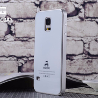 Original FINEDAY Luxury Gorilla Tempered Glass Back Cover Premium Metal Aluminum Bumper Case Skin For Samsung