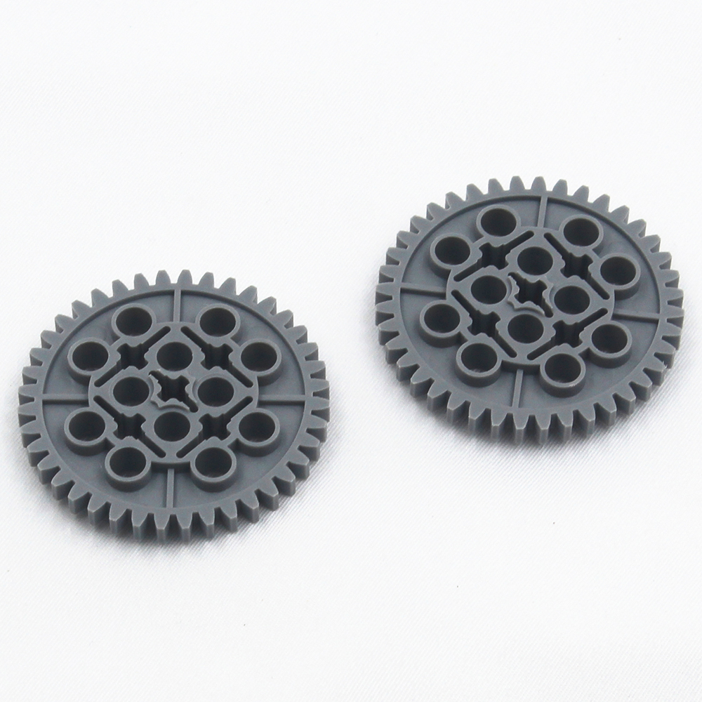 Self-Locking Bricks Free Creation Of Toy Technic GEAR WHEEL Z40 2Pcs Compatible With Lego NOC4514040