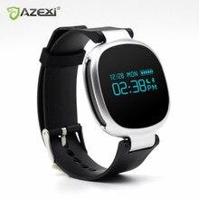 Azexi Smart Браслет Heart Rate Мониторы Сидячий напоминание сна Мониторы ing IP67 Водонепроницаемый Фитнес трекер для IOS Android