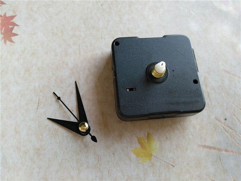 50 piezas de 12 MM Mecanismo de reloj de pared DIY máquina de reloj con piezas de reloj corto-in Partes y accesorios de reloj from Hogar y Mascotas    3
