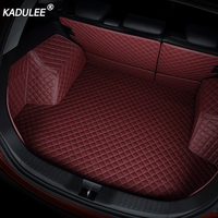 KADULEE Car trunk mats cargo Liner for Mercedes Benz A C W204 W205 E W211 W212 W213 S class CLA GLC ML GLE GL rug car styling
