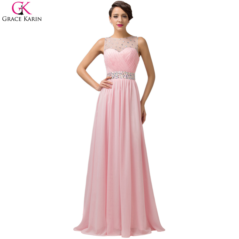 Baratos Grace karin vestidos largos de baile 2017 nuevo diseñador ...