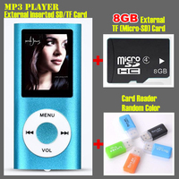 1 8 LCD Screen Sport MP3 Player External Inserted TF Card Music HD MP3 Player 8GB