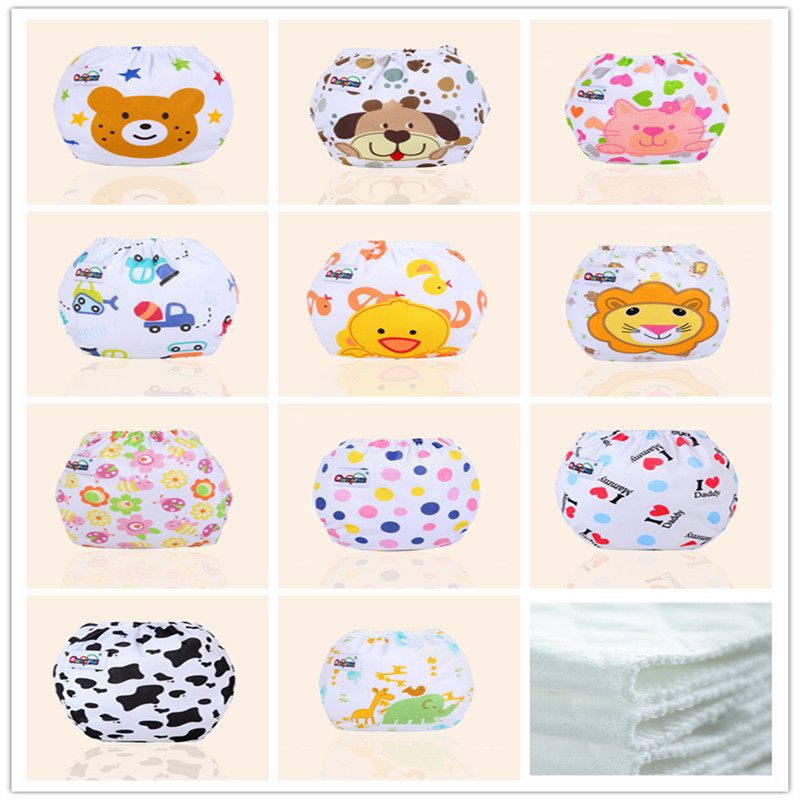 Cloth Diapers Pocket Nappy Washable Baby Waterproof New 0-12M RE2856 Fraldas Depano