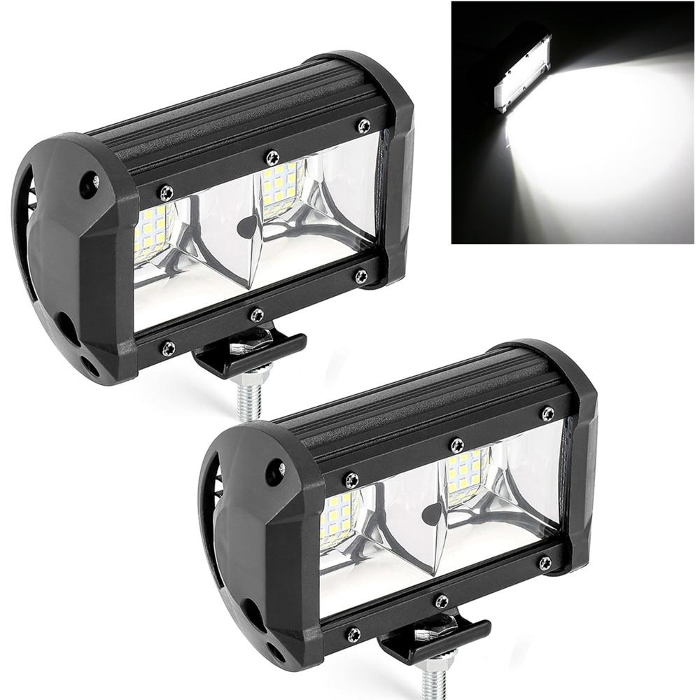 54W 12V 24V Car Led Work Light Bar 4x4 Off Road Lamps Led Lights For Motorcycle Headlight Fog Lamp For Lada Niva For Tractor SUV