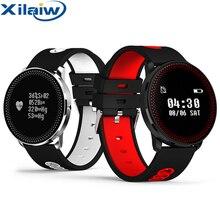 CF007 XilaiW Inteligente Fitness Pulsera Rastreador Heart Rate Monitor de Presión Arterial Pasómetro PK Mi Banda Banda Reloj Pulsera Inteligente 2