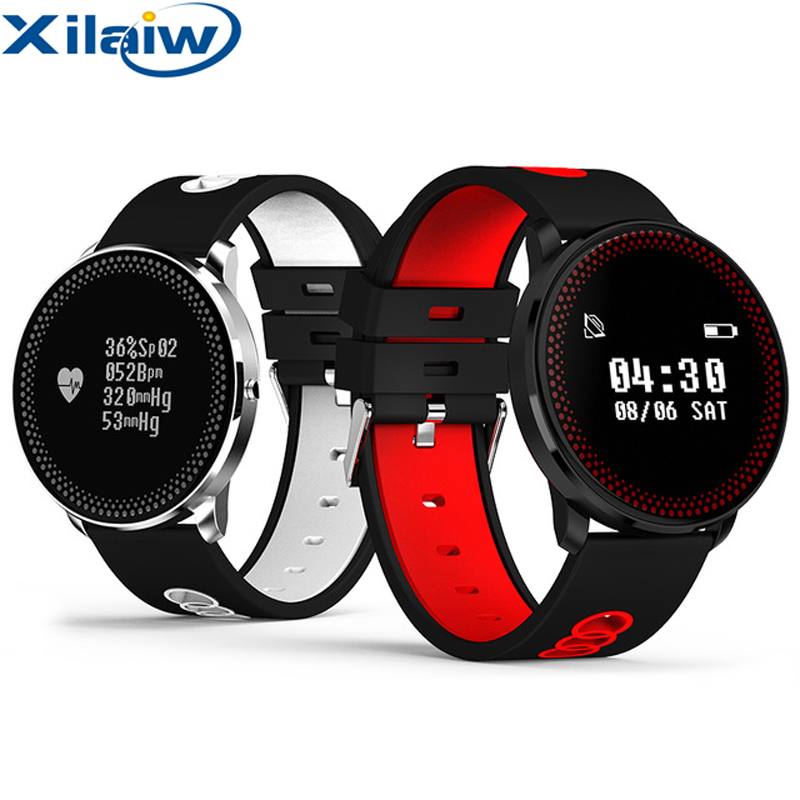 XilaiW CF007 Smart Fitness Bracelet Tracker Heart Rate Blood Pressure Monitor Passometer Smart Band Watch Wristband PK Mi Band 2