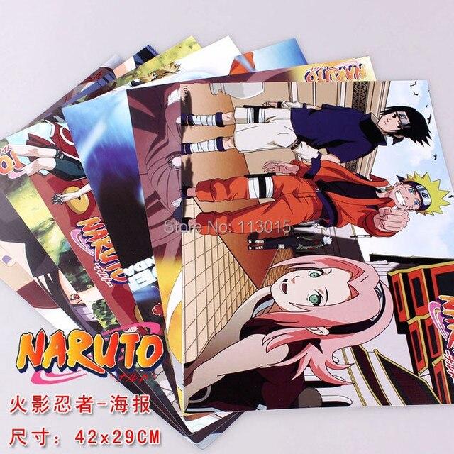 64 STUCKE Anime Poster Comic Bleach Naruto Messe SAO Grosse 42x29 CM Gepragte