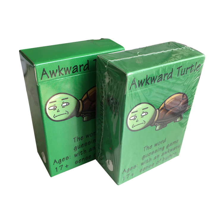 Hot Game Awkward Turtle Adult Funny Party game cards Word Game with a