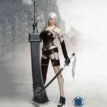 1/6 SUPER DUCK SET030 Cosplay Custom NieR:2B/2A Automata Sexy Clothes Kit Clothes Suit Figure Model   F 12 Action Figure v f stks wood 2b