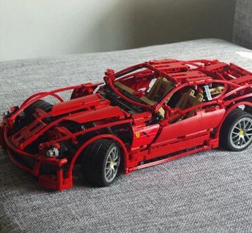 Decool 3333 599 bloc de voiture de course brique jouet ensemble garçon voiture coureurs voiture cadeau Compatible avec kid cadeau Set 008