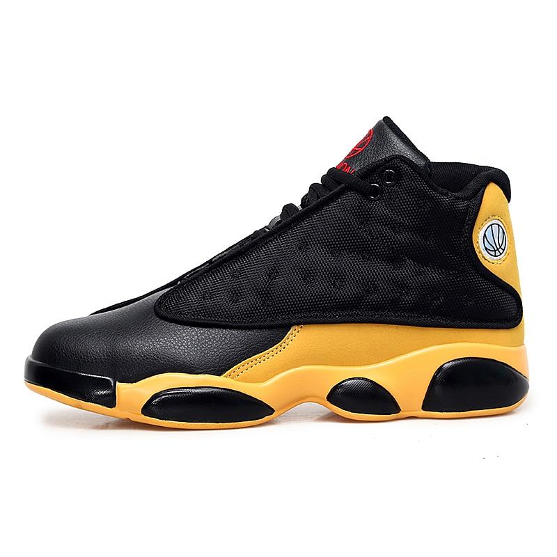 97d796bdbaafb4 Big Size Jordan 13 men Basketball Shoes High Top Cushioning lebron ...