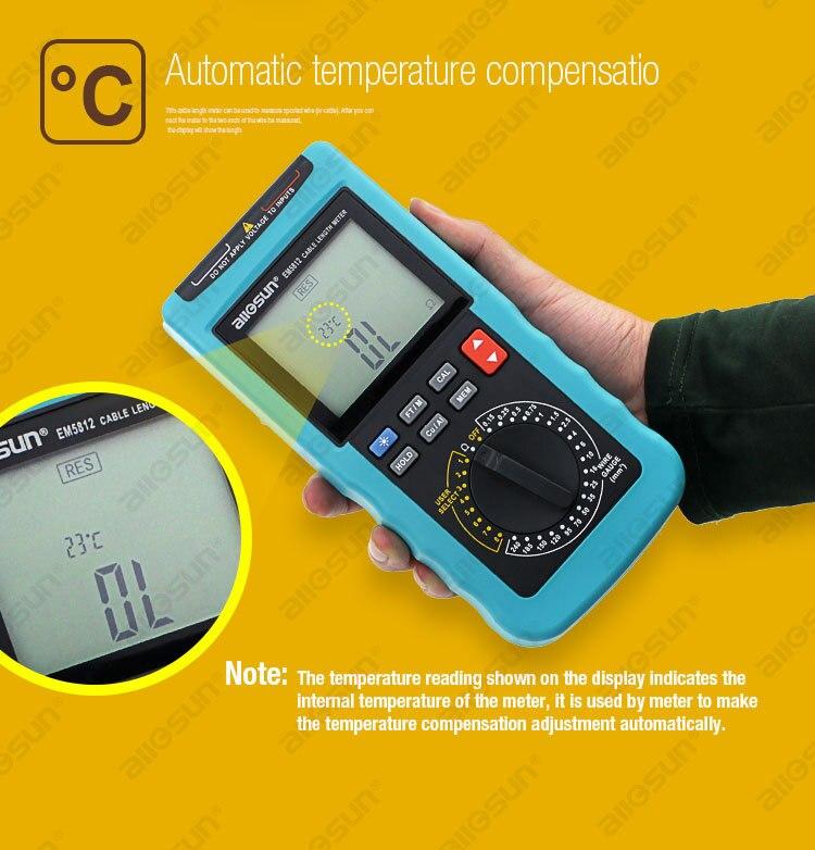 Modern digitális kábelhosszmérő 4 1/2-es számjegyű automatikus - Mérőműszerek - Fénykép 4