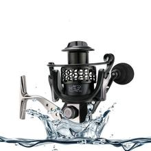 лучшая цена Fishing Reel Spinning Wheel Reel Aluminum Alloy Wire Cup Fishing Equipment