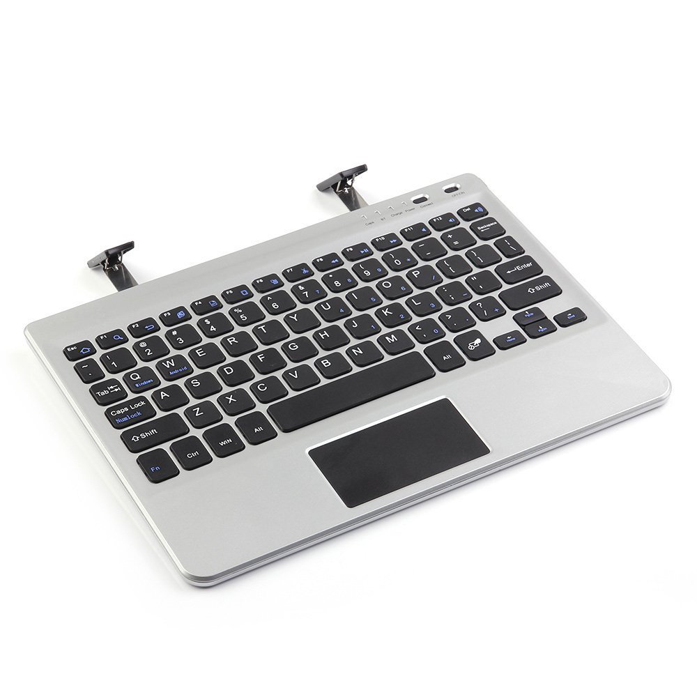 Wireless Bluetooth Keyboard With Touchpad Stand Holder For IPad Air 2 Mini 2 3 4 7