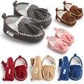 Romirus 2016 borla inverno mocassim bebê fundo macio prewalkers bebês recém-nascidos infantis-mocassim gommino sapatos de couro pu botas