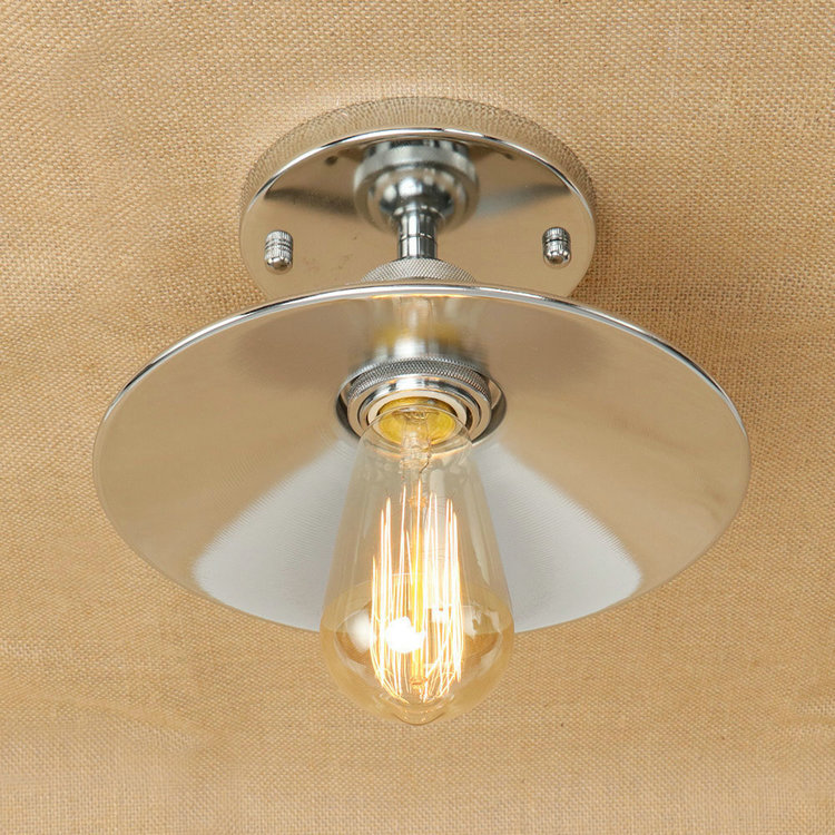 IWHD Industrial Vintage Ceiling Light Fixtures Retro Iron Led Ceiling Lamp Kitchen Lamparas de techo Home Lighting цена