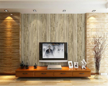 beibehang Simple classic Chinese retro imitation wood grain pvc senior 3d wallpaper living room TV background papel de parede beibehang nostalgic papel de parede retro imitation wooden wallpaper living room study tv background leisure bar background wall