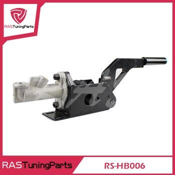 CNC Алюминий Универсальный любой автомобиль модели черный гоночный гидравлический ручной тормоз с главного цилиндра rs3-hb006