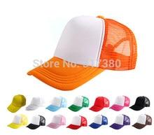 0aebd7ac90a Wholesale 2018 Cheap Blank Fashion Men Trucker Mesh Hats Two Tones Women  Spring Plain Snapbacks Hat Mens Summer Caps Womens Cap