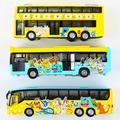 Пикачу Сплава вытяните назад автобус игрушки автомобиля детей игрушки модель 2016.12.01