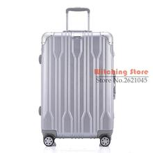 29 INCH 2022242629#  a direct aluminum frame universal wheel trolley suitcase male password board box corner c FREE SHIPPING