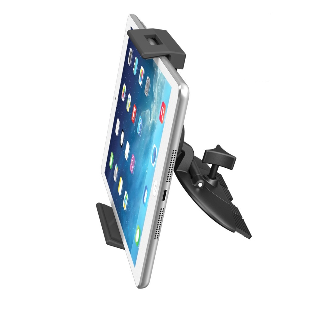 APPS2Car Universal Tablet Holder for Cd Slot for Samsung Tab S A 4 3, Kindle Fire 8 7 6 HD Nokia N1, Nvidia Shield & Phones image